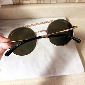 78ad4bb8ee058 CHANEL Accessories - Auth. CHANEL Brand New 18kt Gold 4232 Sunglasses